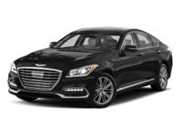 This outstanding example of a 2018 Genesis G80 3.8L is
