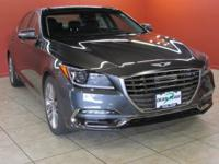 The Genesis G80 is swathed in smooth and supple, full