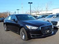 Black 2018 Genesis G90 3.3T Premium RWD 8-Speed