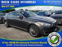 Recent Arrival! Clean CARFAX. 2018 Genesis G90 3.3T