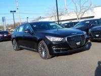 Black 2018 Genesis G90 5.0 Ultimate AWD 8-Speed