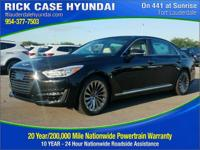 Recent Arrival! Black 2018 Genesis G90 5.0 Ultimate RWD