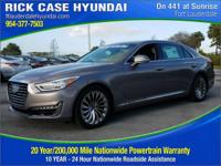 Recent Arrival! Gray 2018 Genesis G90 5.0 Ultimate RWD