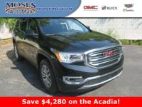 The 2018 GMC Acadia mid-size SUV meets your everyday