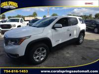 2018 GMC Acadia SLE-1 2621 HighwayCity MPG  Options:
