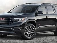Options:  Pre-Owned 2018 Gmc Acadia Sle|Crimson Red