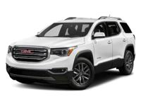 Recent Arrival! 2018 GMC Acadia SLT-1 White Priced