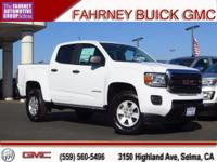 2018 GMC Canyon 4D Crew Cab Summit White RWD V6 br  br