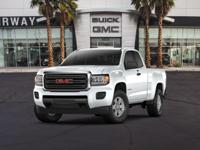 Boasts 26 Highway MPG and 20 City MPG! This GMC Canyon