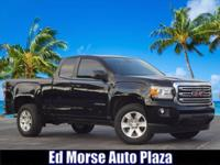 CARFAX One-Owner. Certified. 2018 GMC Canyon SLE1 Onyx