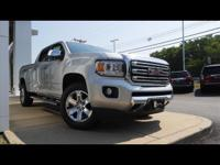 Quicksilver Metallic 2018 GMC Canyon SLT 4WD 8-Speed
