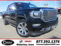 Onyx+Black+2018+GMC+Sierra+1500+Denali+4WD+8-Speed+Auto