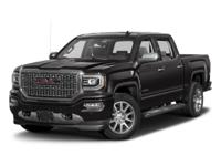 Boasts 20 Highway MPG and 15 City MPG! This GMC Sierra