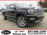 Onyx Black 2018 GMC Sierra 1500 Denali 4WD 8-Speed