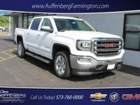 Summit White 2018 GMC Sierra 1500 SLT 4WD 8-Speed