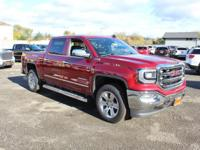 2018 GMC Sierra 1500 SLT 8-Speed Automatic, 4WD, Jet