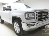 This 2018 GMC Sierra 1500 SLT Crew Cab 4x4 with only