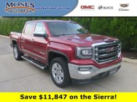 Quartz 2018 GMC Sierra 1500 SLT 4WD 8-Speed Automatic