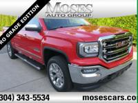 New Price! Cardinal Red 2018 GMC Sierra 1500 4WD