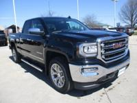 Onyx Black 2018 GMC Sierra 1500 SLT 4WD 6-Speed
