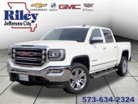 Riley Red Tag Sale! Summit White 2018 GMC Sierra 1500