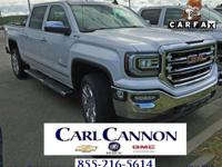 White Frost 2018 GMC Sierra 1500 SLT 4WD 8-Speed