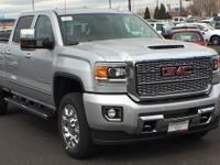 Quicksilver Metallic 2018 GMC Sierra 2500HD Denali 4WD