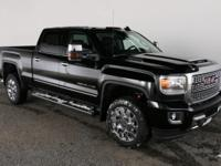 Onyx Black 2018 GMC Sierra 2500HD Denali Allison 1000