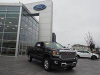 Onyx Black 2018 GMC Sierra 2500HD Denali 4WD Allison