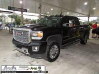 Black 2018 GMC Sierra 2500HD Denali 4WD Allison 1000