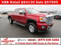 1-Owner New Vehicle Trade, Sold Here New! Denali 6.6 V8