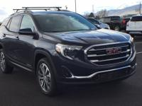 Blue Steel Metallic 2018 GMC Terrain SLT AWD 9-Speed