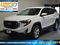 2018 Summit White GMC Terrain SLE FWD 1.5L DOHC 9-Speed