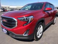 CARFAX One-Owner. 2018 GMC Terrain SLE Red One Owner,