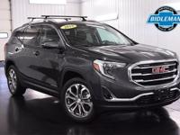 Options:  Pre-Owned 2018 Gmc Terrain Slt|Graphite Gray