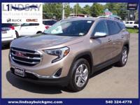Certified. CARFAX One-Owner. Clean CARFAX. Terrain SLT,