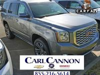 Steel Metallic 2018 GMC Yukon Denali RWD 10-Speed