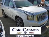White Frost 2018 GMC Yukon Denali RWD 10-Speed