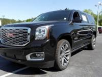Onyx Black 2018 GMC $3,631 off MSRP! Yukon XL Denali