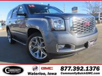 Steel+Metallic+2018+GMC+Yukon+Denali+4WD+10-Speed+Autom