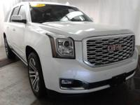 Boasts 21 Highway MPG and 14 City MPG! This GMC Yukon