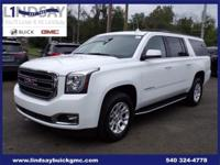 Options:  2018 Gmc Yukon Xl Slt|White|Certified. Clean