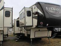Beautiful front living style fifth wheel with FIVE