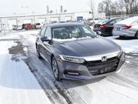 Boasts 34 Highway MPG and 23 City MPG! This Honda