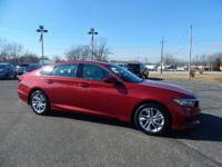 Radiant Red Metallic 2018 Honda Accord LX FWD CVT I4