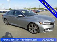 This 2018 Accord sedan is a one owner vehicle with a