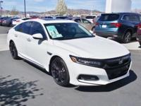 2018 Honda Accord Touring 2.0T Platinum White FWD
