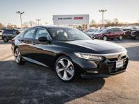 Crystal Black Pearl 2018 Honda Accord Touring FWD CVT