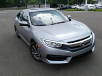 Boasts 40 Highway MPG and 31 City MPG! This Honda Civic