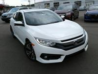 Boasts 42 Highway MPG and 32 City MPG! This Honda Civic